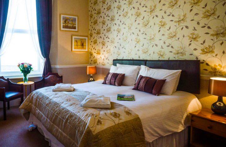 Room #6 – Super King Bedroom en-suite with Sea Views