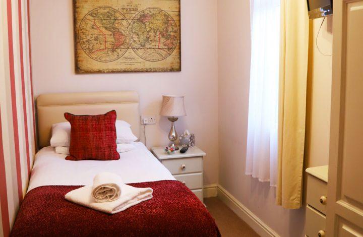 Room #3 – Small Single en-suite