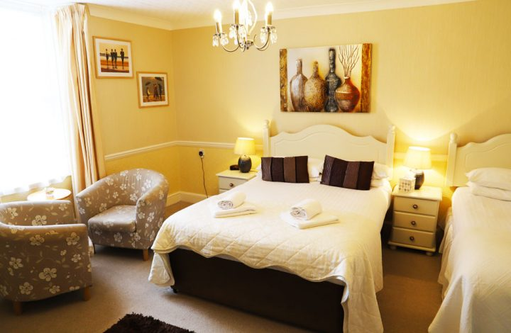 Room #9 – Large Family Bedroom with en-suite