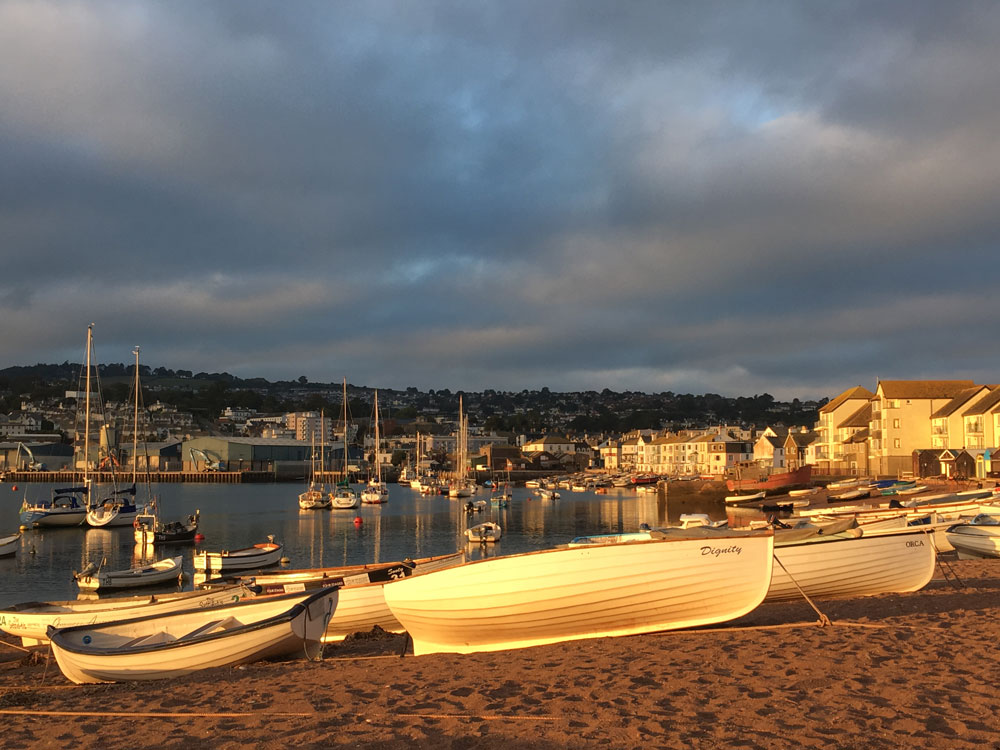Boats in Teignmouth